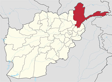 Badakhshan in the Map